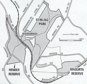 Map of Woorabinda