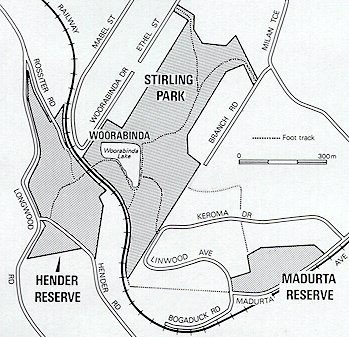 Map of Woorabinda